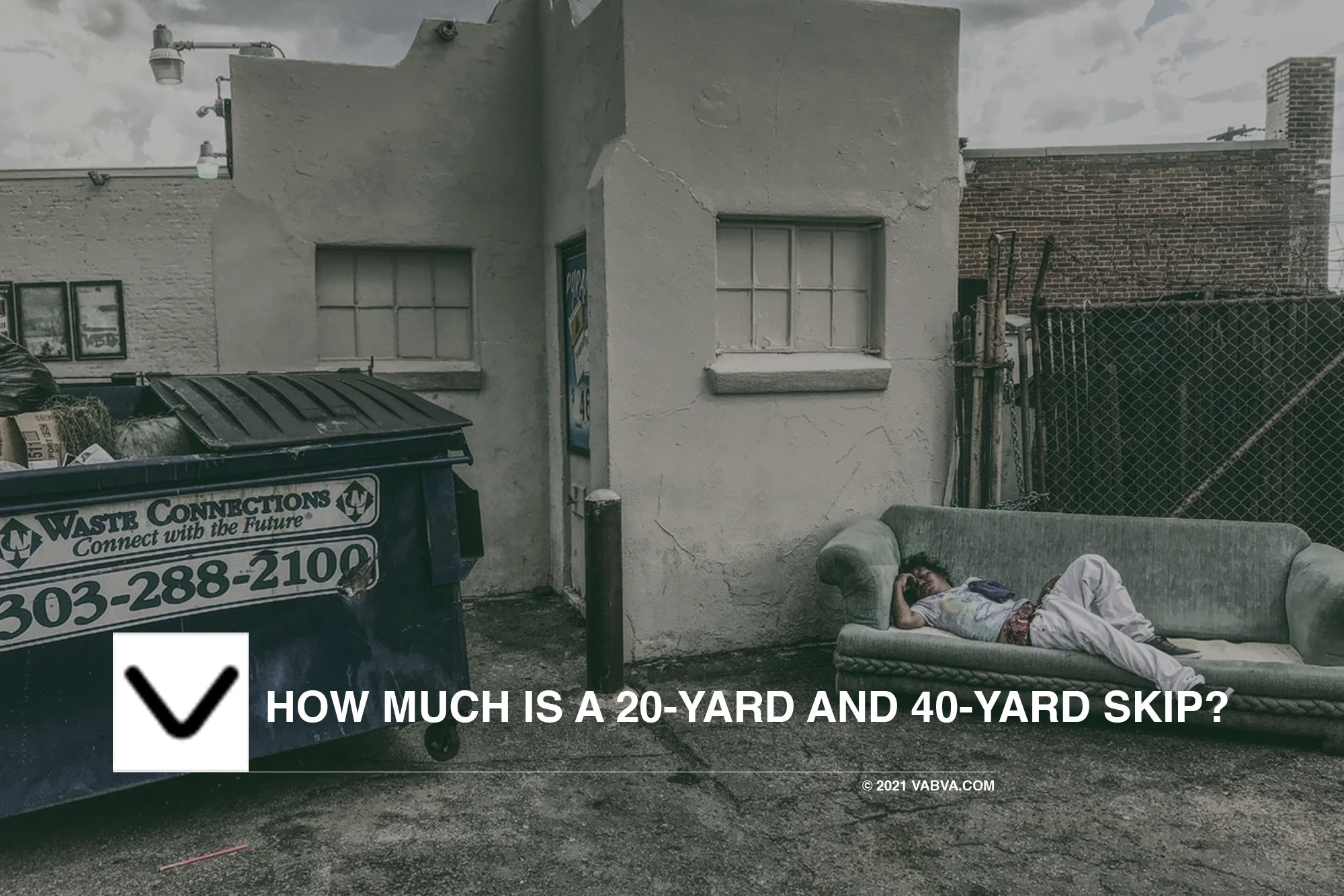 How much is a 20-Yard and 40-Yard skip?
