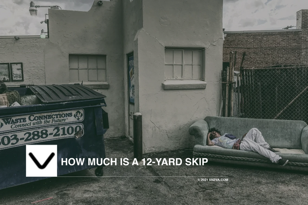 How much is a 12-Yard skip