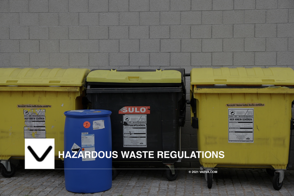 Hazardous waste regulations