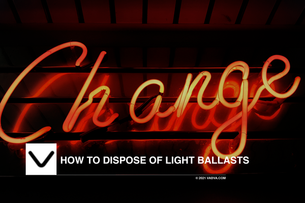 How to Dispose of Light Ballasts