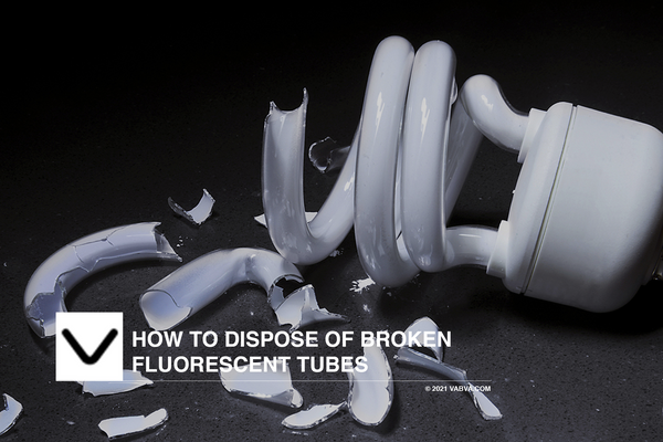 How to Dispose of Broken Fluorescent Tubes