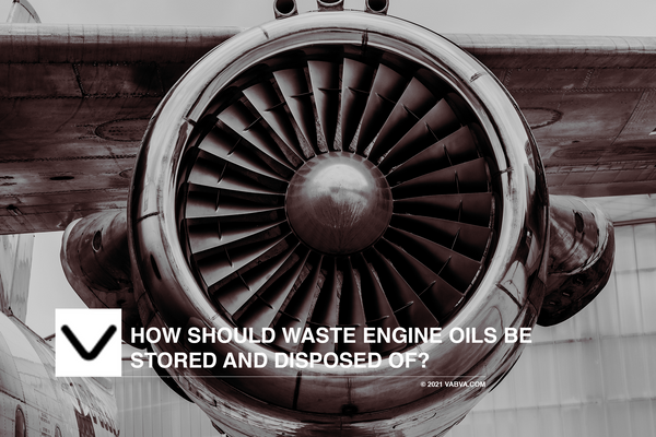 How should Waste Engine Oils be Stored and Disposed of?