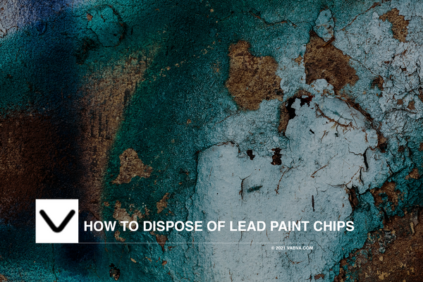 How to Dispose of Lead Paint Chips