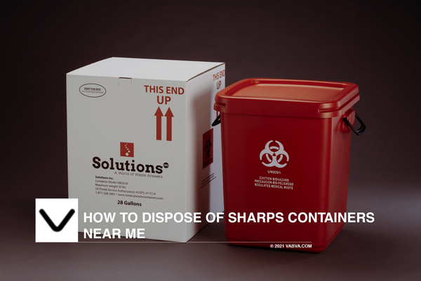 How to Dispose of Sharps Containers near Me