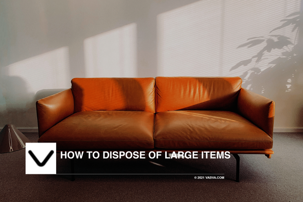 How to Dispose of Large Items