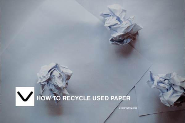 How to Recycle Used Paper